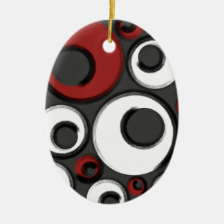 Ornamento De Cerâmica Caneleiras Loopy