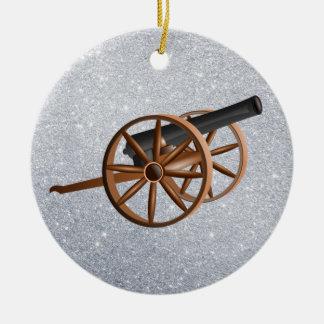 Ornamento De Cerâmica canhão