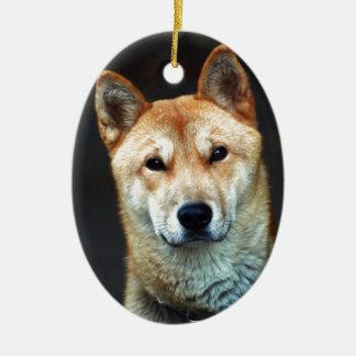 Ornamento De Cerâmica cão