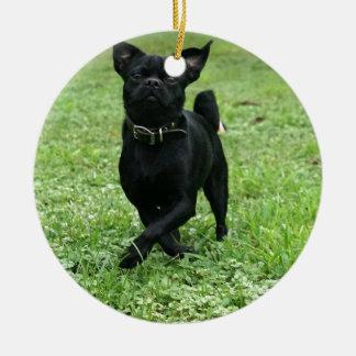 Ornamento De Cerâmica Cão brincalhão