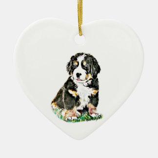 Ornamento De Cerâmica Cão de montanha de Bernese