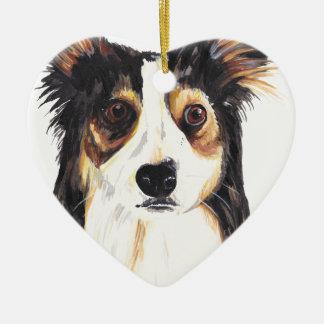 Ornamento De Cerâmica Cão do Kelpie