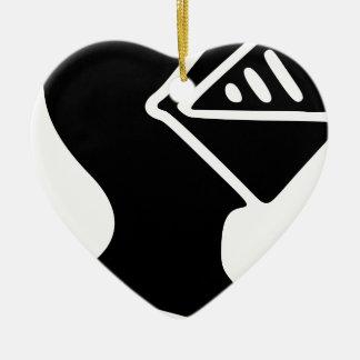Ornamento De Cerâmica Capacete do cavaleiro