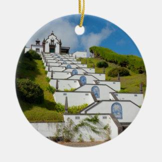 Ornamento De Cerâmica Capela em ilhas de Açores