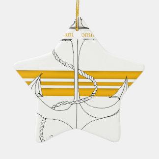 Ornamento De Cerâmica capitão-de-corveta do ouro, fernandes tony