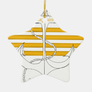 Ornamento De Cerâmica capitão do ouro, fernandes tony