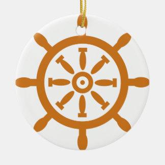 Ornamento De Cerâmica Capitão Roda