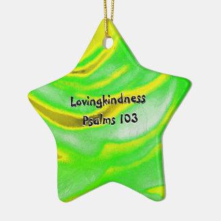 Ornamento De Cerâmica Capítulo 103 dos salmos do Lovingkindness