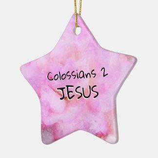 Ornamento De Cerâmica Capítulo 2 de Colossians
