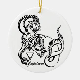 Ornamento De Cerâmica capricorn