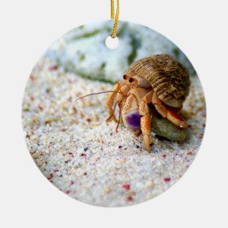 Ornamento De Cerâmica Caranguejo da areia, Curaçau, ilhas das Caraíbas,
