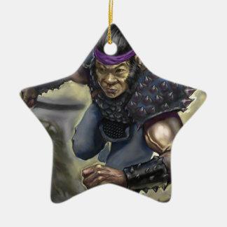 Ornamento De Cerâmica Caranguejo Scout.tif