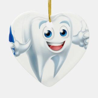 Ornamento De Cerâmica Caráter da mascote do dente