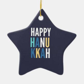 Ornamento De Cerâmica Caráteres de Hanukkah