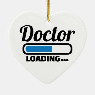 Ornamento De Cerâmica Carga do doutor