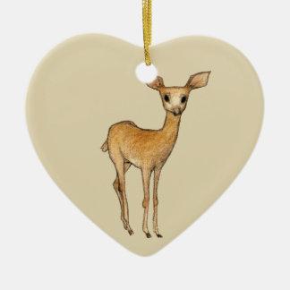 Ornamento De Cerâmica Caros cervos
