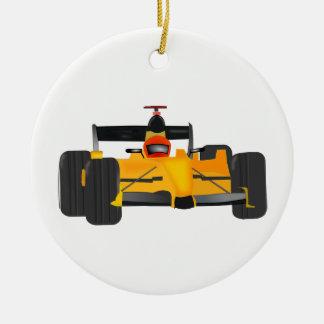 Ornamento De Cerâmica carro de corridas