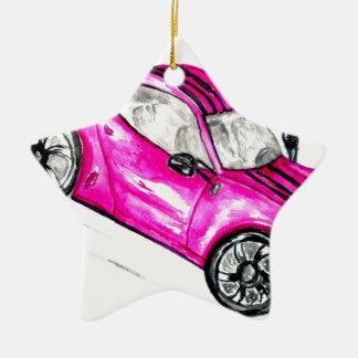 Ornamento De Cerâmica Carro desportivo Sketch2