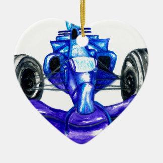 Ornamento De Cerâmica Carro desportivo Sketch3