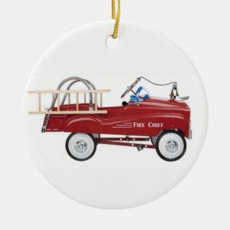 Ornamento De Cerâmica Carro do pedal do vintage