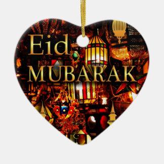 Ornamento De Cerâmica cartão 3 de ramadan