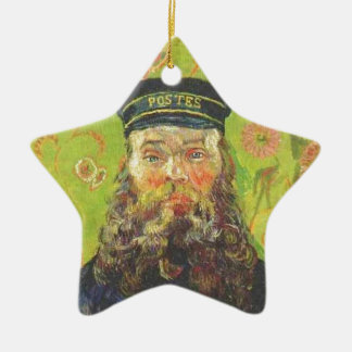 Ornamento De Cerâmica Carteiro Joseph Roulin - Vincent van Gogh do