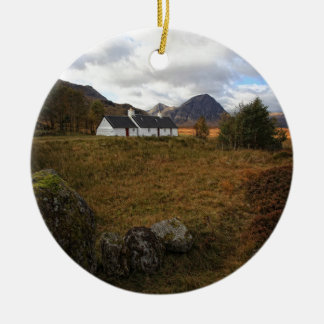 Ornamento De Cerâmica Casa de campo de Blackrock, Glencoe, Scotland