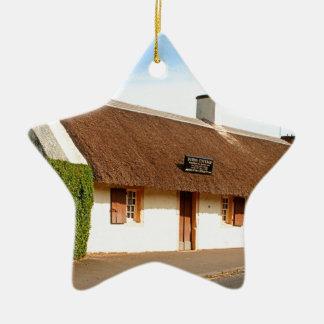 Ornamento De Cerâmica Casa de campo de Robert Burns, Alloway, Scotland