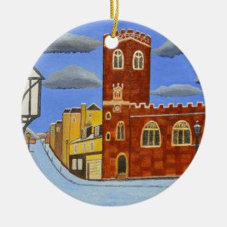 Ornamento De Cerâmica Casa de Tudor em Exeter