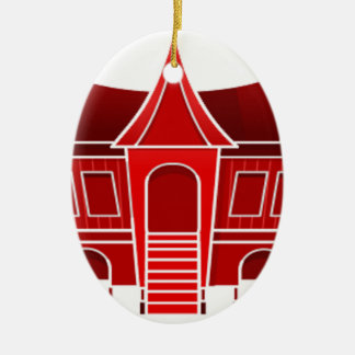 Ornamento De Cerâmica casa étnica