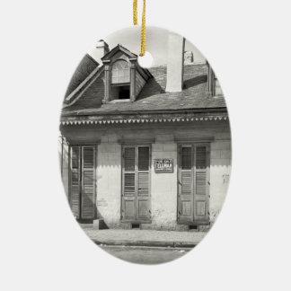 Ornamento De Cerâmica Casa velha do bairro francês
