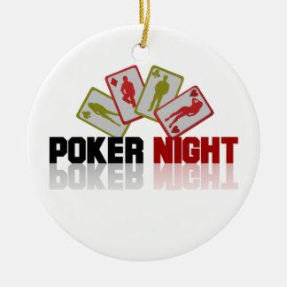 Ornamento De Cerâmica Casino do póquer