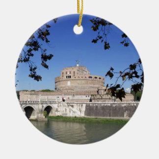 Ornamento De Cerâmica Castel Sant Angelo