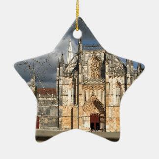 Ornamento De Cerâmica Castelo português
