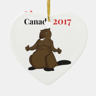 Ornamento De Cerâmica Castor de Canadá 150 em 2017