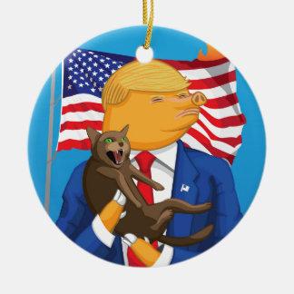 Ornamento De Cerâmica Catástrofe americana