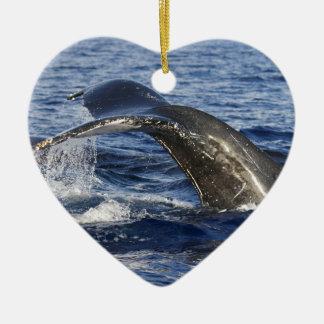 Ornamento De Cerâmica Cauda da baleia