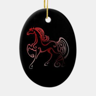 Ornamento De Cerâmica Caudas do cavalo