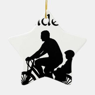 Ornamento De Cerâmica Cavaleiro do assento traseiro