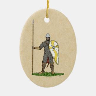 Ornamento De Cerâmica Cavaleiro normando, cerca de 1066