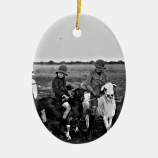 Ornamento De Cerâmica Cavaleiros da cabra do passado