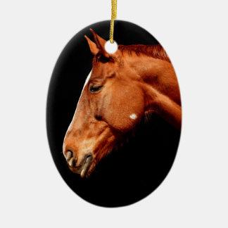 Ornamento De Cerâmica cavalo