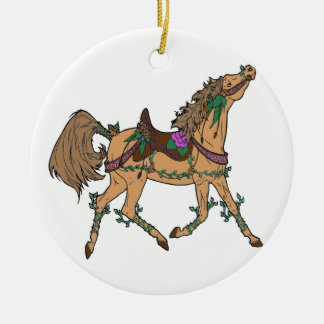 Ornamento De Cerâmica Cavalo 2
