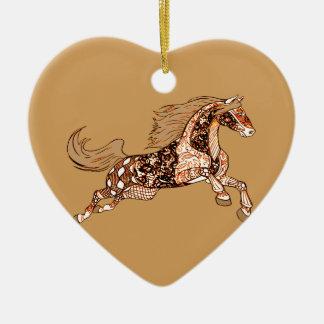 Ornamento De Cerâmica Cavalo 3