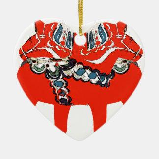 Ornamento De Cerâmica Cavalos roupa e presentes de Dala do sueco