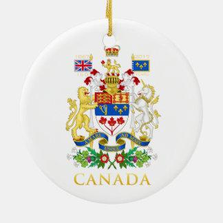 Ornamento De Cerâmica Celebração do aniversário de Canadá 150th