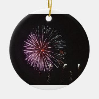 Ornamento De Cerâmica Celebração do Natal