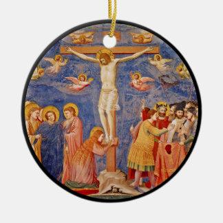 Ornamento De Cerâmica Cena medieval da Sexta-feira Santa