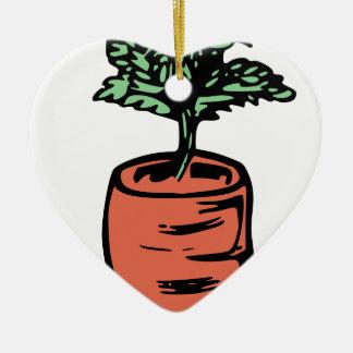 Ornamento De Cerâmica Cenoura
