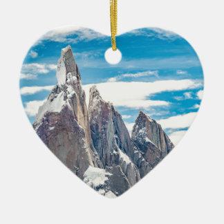 Ornamento De Cerâmica Cerro Torre - Parque Nacional Los Glaciares